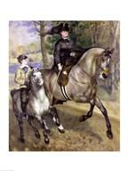 Horsewoman in the Bois de Boulogne, 1873  Fine Art Print