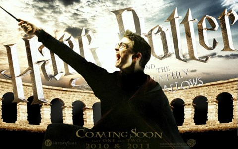 Framed Harry Potter and the Deathly Hallows: Part II - coming soon Print