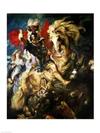 St. George and the Dragon, c.1606  Fine Art Print
