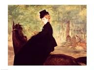 The Horsewoman, 1875 Art
