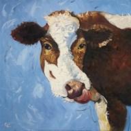 Cow #303  Fine Art Print