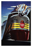 Canadian Pacific Railroad  Fine Art Print