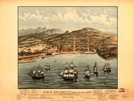 View of San Francisco 1846-7  Fine Art Print