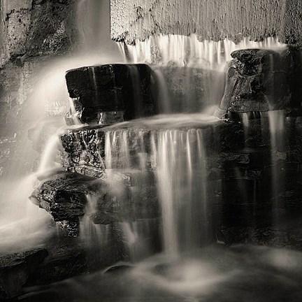 Framed Waterfall, Study #1 Print