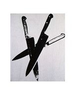 Knives, c.1981-82 (three black) Art