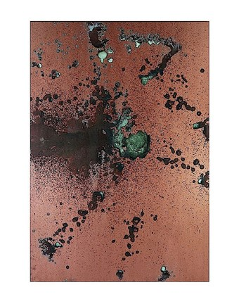 Framed Oxidation Painting, 1978 Print