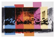Detail of The Last Supper, 1986  Fine Art Print