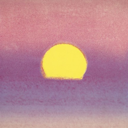 Framed Sunset, 1972 40/40 (lavender) Print