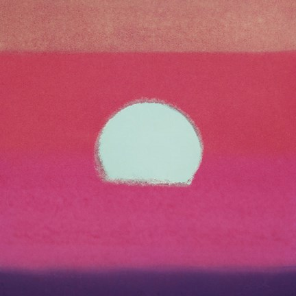 Framed Sunset, 1972 40/40  (fuchsia) Print
