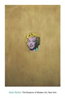 Gold Marilyn Monroe