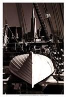 Lifeboat and San Francisco Skyline  Fine Art Print