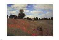 Wild Poppies, near Argenteuil (Les Coquelicots: environs d'Argenteuil), 1873  Fine Art Print
