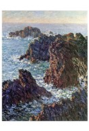 Rock Points at Belle-Ile, 1886 Art