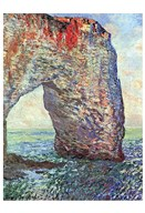 The Manneporte near Etretat, 1886 Art