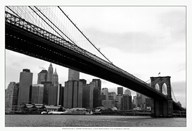 Manhattan from Brooklyn (b/w)  Fine Art Print