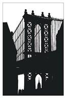 DUMBO Silhouette  Fine Art Print