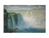 Blue Niagara, 1884 Art
