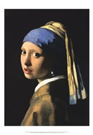 Girl with a Pearl Earring  Fine Art Print