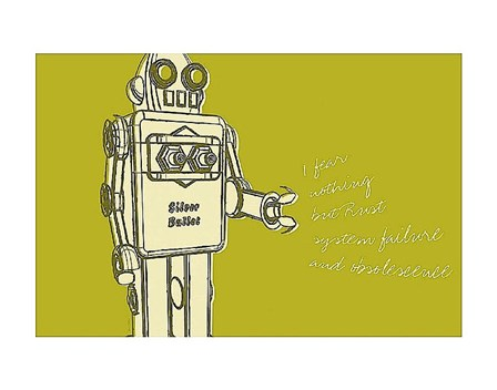 Lunastrella Robot No. 1 by John Golden art print
