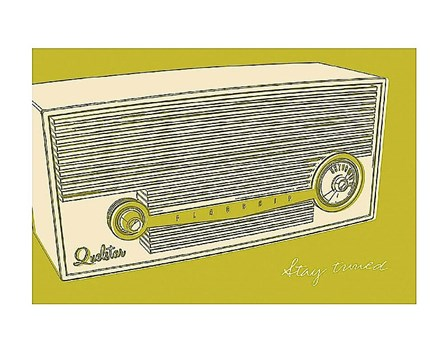 Lunastrella Radio by John Golden art print