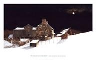 December Moonrise  Fine Art Print