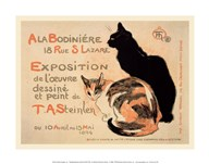 A la Bodiniere/Exposition Steinlen