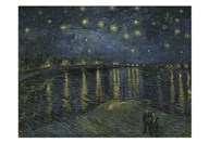 Starry Night Over the Rhone Art