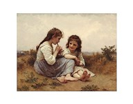 A Childhood Idyll  Fine Art Print