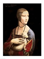 The Lady with the Ermine Art