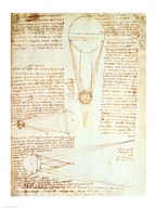Studies of the Illumination of the Moon 1r from Codex Leicester