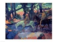 The Escape, The Ford, 1901  Fine Art Print