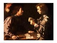 The Gamblers  Fine Art Print