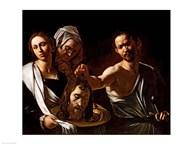 Salome Receives the Head of Saint John the Baptist, 1607-10  Fine Art Print