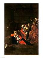 Adoration of the Shepherds  Fine Art Print