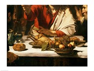 The Supper at Emmaus, Detail 1601 Art