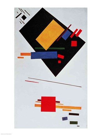 Framed Suprematist Composition, 1915 Print