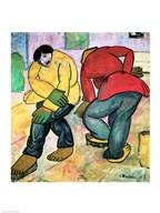 The Floor Polishers, 1911  Fine Art Print
