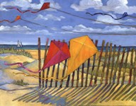Beach Kites Yellow - mini