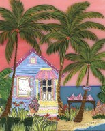 Conch Cottage - mini Art