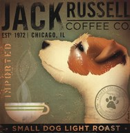 Jack Russell Coffee Co  Fine Art Print
