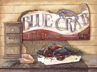 Blue Crab B&B  Fine Art Print