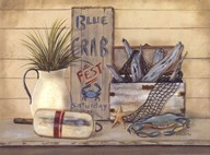 Blue Crab Fest Art