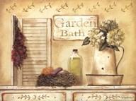 Garden Bath  Fine Art Print