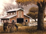 Afternoon at the Farm  Fine Art Print
