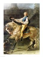 Equestrian Portrait of Stanislas Kostka Potocki  Fine Art Print