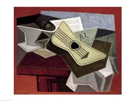Guitar and Newspaper, 1925 Art
