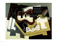 Guitar and Clarinet, 1920 Art