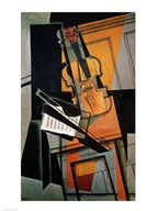 The Violin, 1916 Art