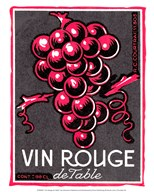 Vin Rouge de Table