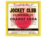 Jockey Club Orange Soda